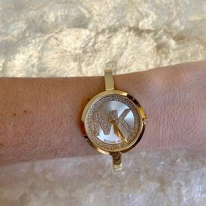 Michael Kors Blakely Crystal Glitz Watch MK3630